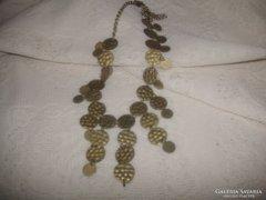 Antik nyaklánc  rézből