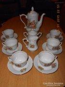 Lengyel porcelán teáskészlet