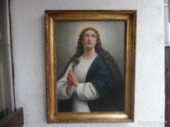 Pammer János Madonás festménye.