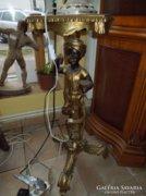 Elegáns konzol,  arany színben