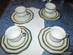 Winterling Bergamo csésze és süteményes tányér 1-1 db