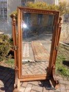 140 éves faragott tükör.