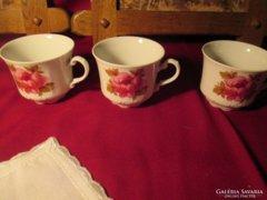 3 db Mitterteich csésze