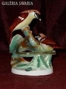 Napraforgót evő porcelán madarak  ( DBZ0049 )
