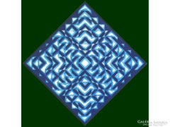 """Orosz G. Balázs : """"Blue"""" 2004"""