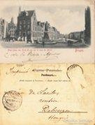 Belga  Bruges 0014 (stengel 6616)   1900  RK