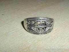Régi Pillangó mint.Tibeti ezüst gyűrű
