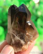 58 gr Himalájai fekete kvarc kristály csoport