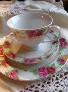 Porcelán reggeliző készlet