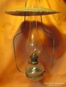 Eredeti lámpagyári mennyezeti petróleum lámpa