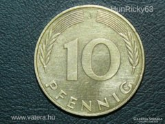 10 Pfennig (J) - Németország - 1990.