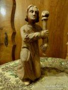 25 cm es fa angyal századfordulós