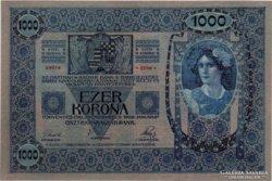 1000 Korona - 1902 - UNC