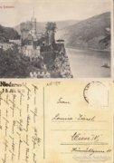 Német   Burg Rheinstein      1913  RK