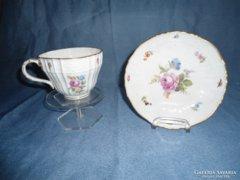 Meisseni Teás csésze aljal eredeti   19 századi