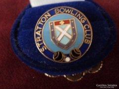 Bowling Club Tűzzománc kitűző