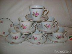 Zsolnay teás készlet - hat személyes