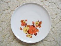 Porcelán virág mintás tányér - CP jelzés, német