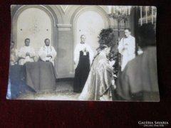 MISE KATOLIKUS PAP PRIMIZÁL BÉCS FOTÓ 1935 WIEN