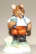 Herendi kis figura: Medve mézes bödönnel
