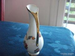 Kézzel festett virág fűzéres kancsó-váza-16 cm