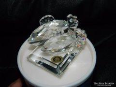 Bohemia kristály halak eredeti dobozában  gyűjteményi darab!