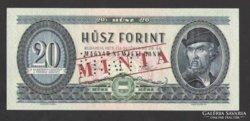 20 forint 1975.  MINTA!!!  RITKA !!! UNC !!!