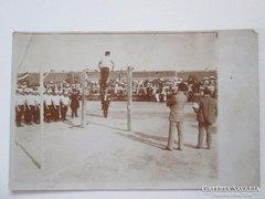 I.vh. katonai  atlétikai bajnokság  torna bemutató