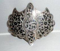 Tula ezüst antik pillangó formájú ruhadísz /orosz