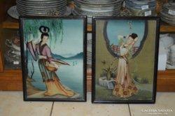 Kínai akvarell kép