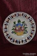 Kézműves fali tányér  ( DBZ0048 )