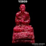 Rubin Buddha szobor 380 ct különlegesség Madagaszkárról