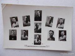 Magyar labdarúgó csapat, 1954.