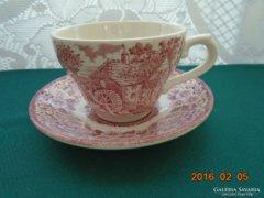 Constable Bicentenárium-Broadhurst-pink csésze és alátét(2)