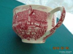 """""""A vidéki régi Anglia"""" mintával pink teáscsésze(2)"""