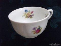 Antik-Tilsch-Altwasser virágos teás csésze-1932-(3)-9x5cm