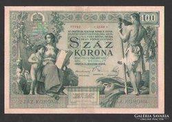 100 korona 1902.  NAGYON RITKA!!!