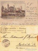 Schweiz - Svájc   Rapperswil   1898  RK