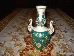 hollóházi váza ritka egyedi