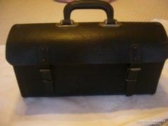 Régi szerszám tároló táska bőr