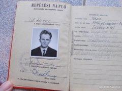 Magyar Pilota repülési napló