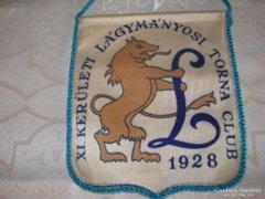 Lágymányosi Torna Club asztali zászló