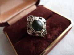Antik ötvösékszer gyűrű