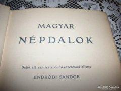Endrődi Sándor: Magyar Népdalok, 1906