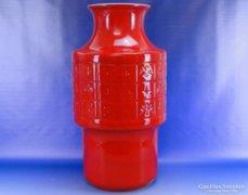 0E223 Jelzett nagyméretű GRÁNIT porcelán váza 55cm