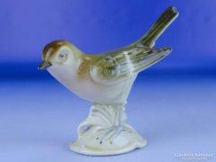 0E224 Régi GDR német porcelán madár