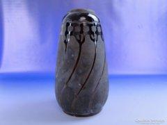 0E457 Antik BADÁR BALÁZS mezőtúri kerámia váza
