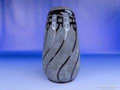 0E458 Antik BADÁR BALÁZS mezőtúri kerámia váza