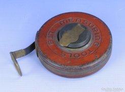 0E616 Antik MEASURING mérőszalag 20 méter