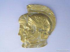 0E462 Rómiai katonai portré rézplakett